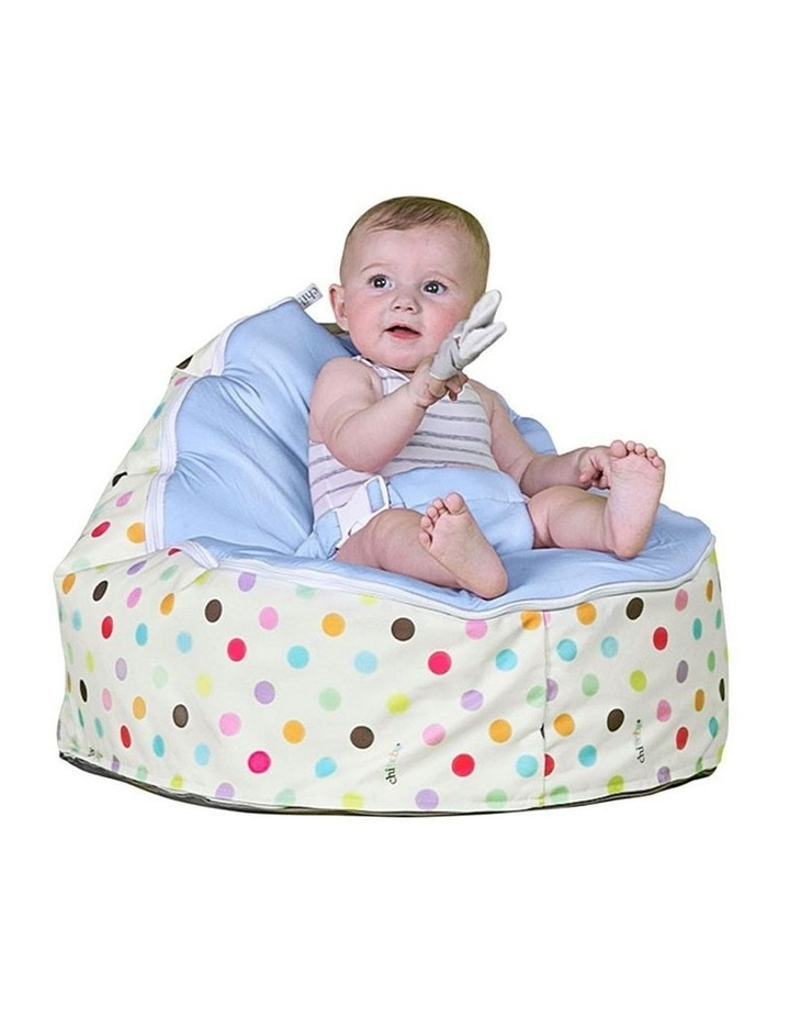 Sprinkles Snuggle Pod Baby Bean Bag - Blue image 2