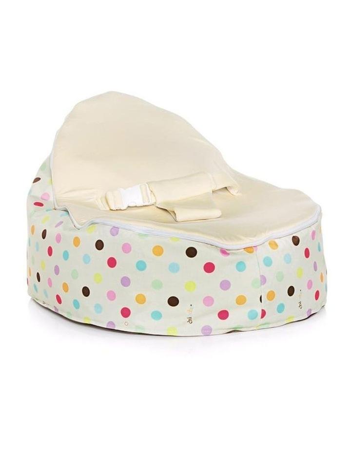 Sprinkles Snuggle Pod Baby Bean Bag - Cream image 1