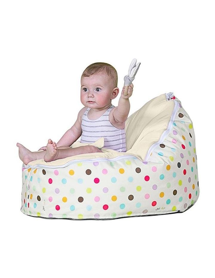 Sprinkles Snuggle Pod Baby Bean Bag - Cream image 2