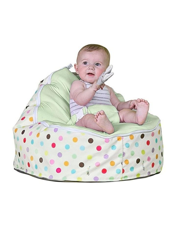 Sprinkles Snuggle Pod Baby Bean Bag - Lime image 2