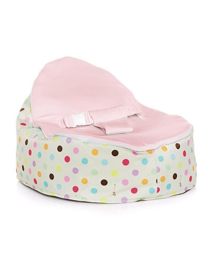 Sprinkles Snuggle Pod Baby Bean Bag - Pink image 1