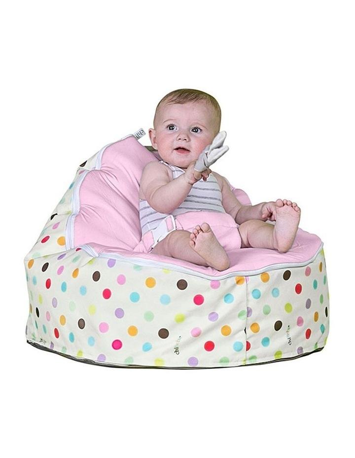 Sprinkles Snuggle Pod Baby Bean Bag - Pink image 2