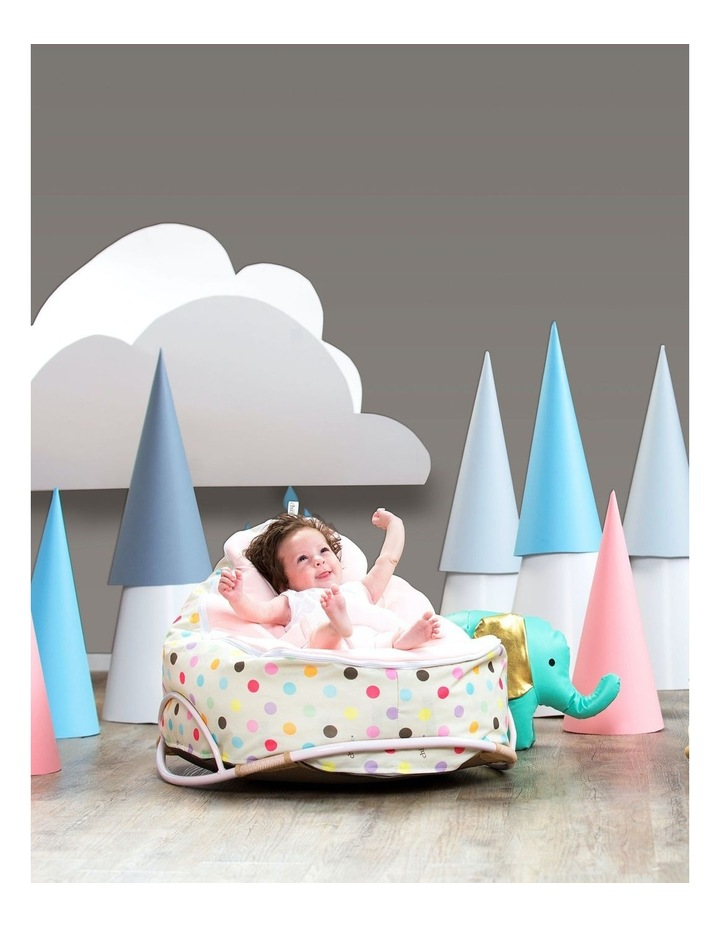 Sprinkles Snuggle Pod Baby Bean Bag - Pink image 3
