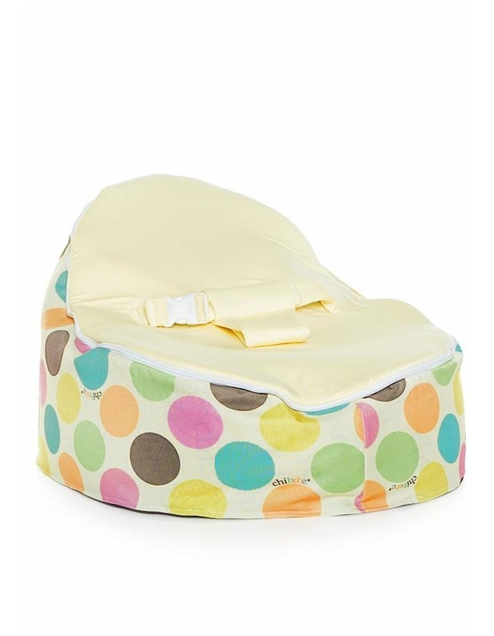 Serendipity Snuggle Pod Baby Bean Bag Cream image 1