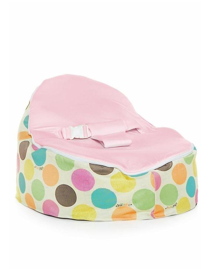Serendipity Snuggle Pod Baby Bean Bag Pink image 1