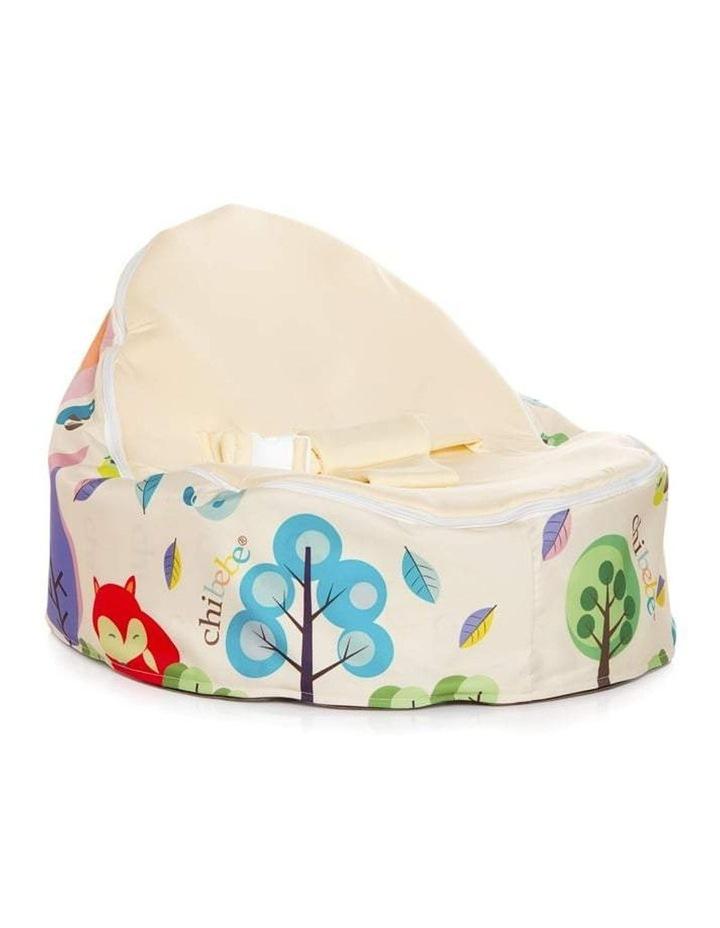 Moxie Foxie Snuggle Pod Baby Bean Bag Cream image 1