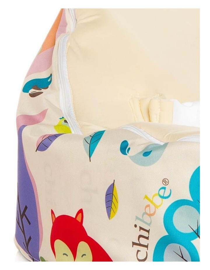 Moxie Foxie Snuggle Pod Baby Bean Bag Cream image 2