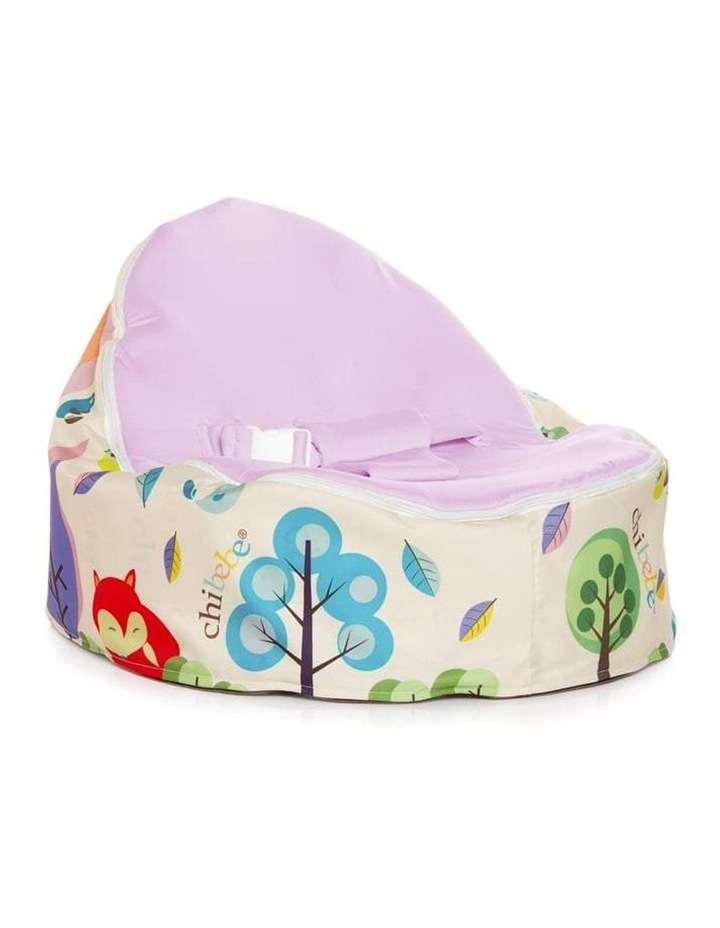 Moxie Foxie Snuggle Pod Baby Bean Bag Grape image 1