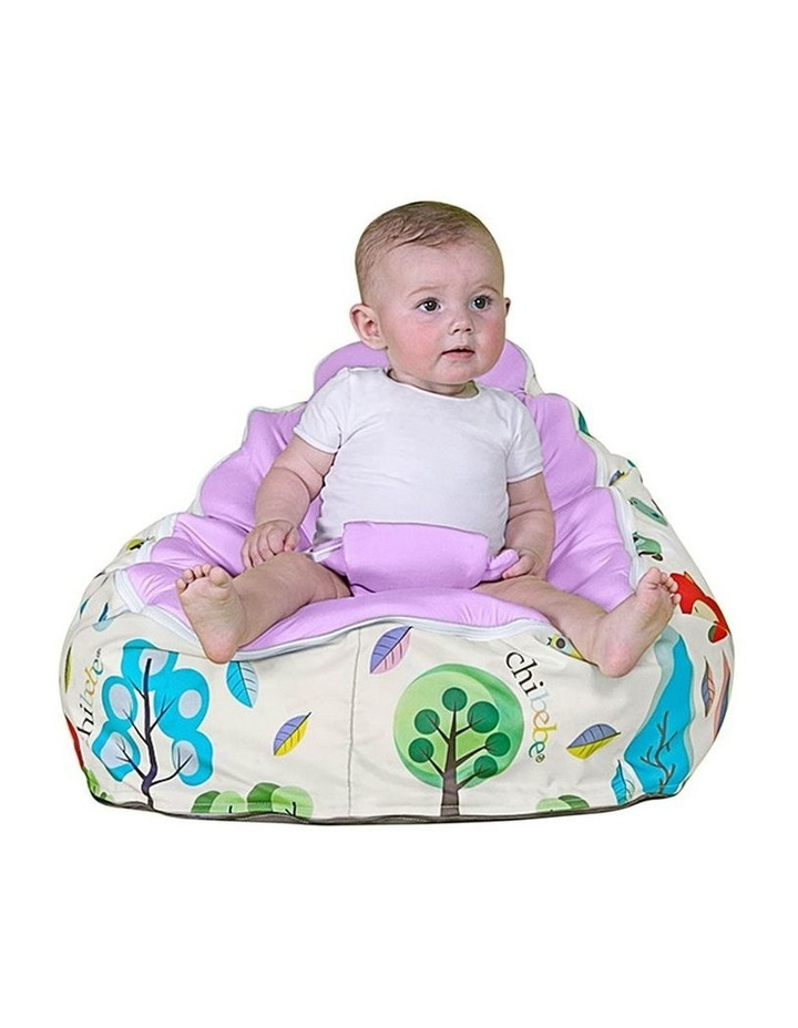 Moxie Foxie Snuggle Pod Baby Bean Bag Grape image 2