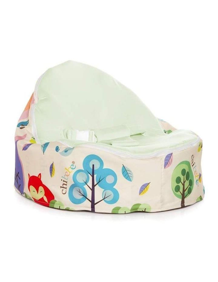 Moxie Foxie Snuggle Pod Baby Bean Bag Lime image 1