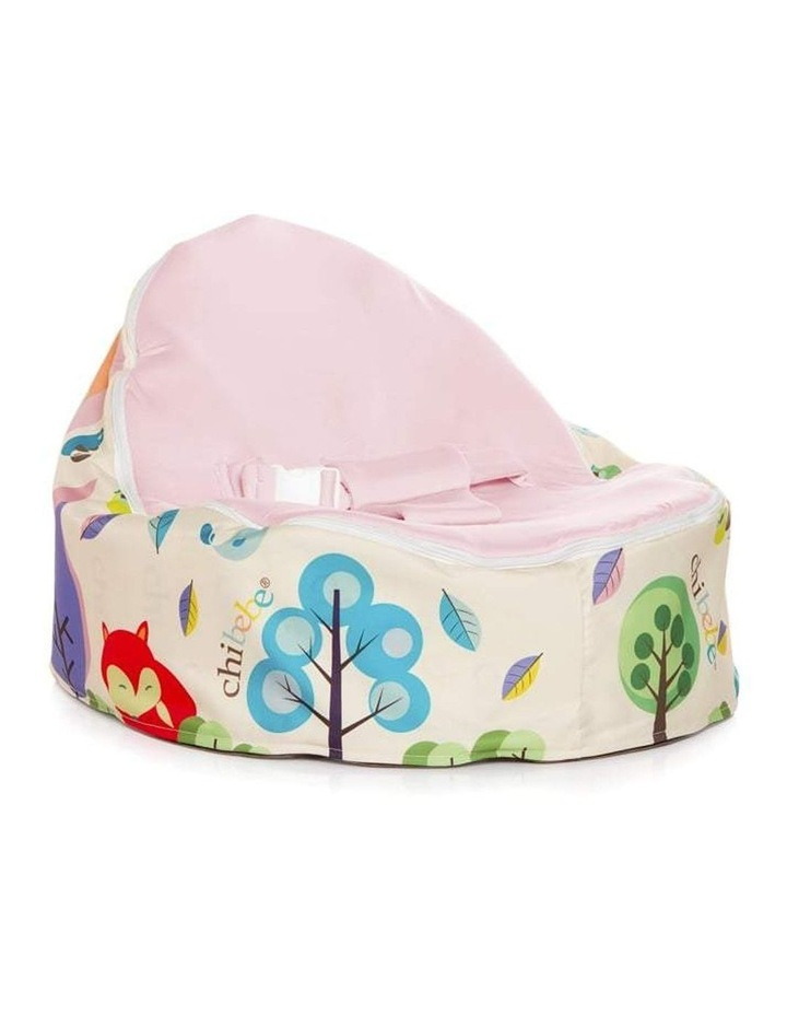 Moxie Foxie Snuggle Pod Baby Bean Bag Pink image 1