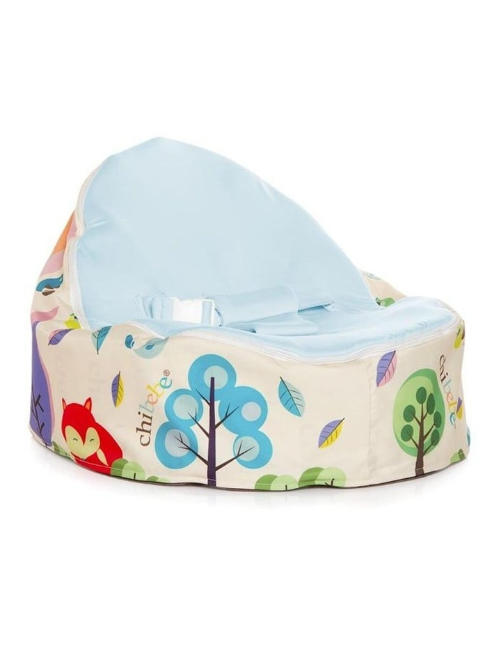 Moxie Foxie Snuggle Pod Baby Bean Bag Pink image 1