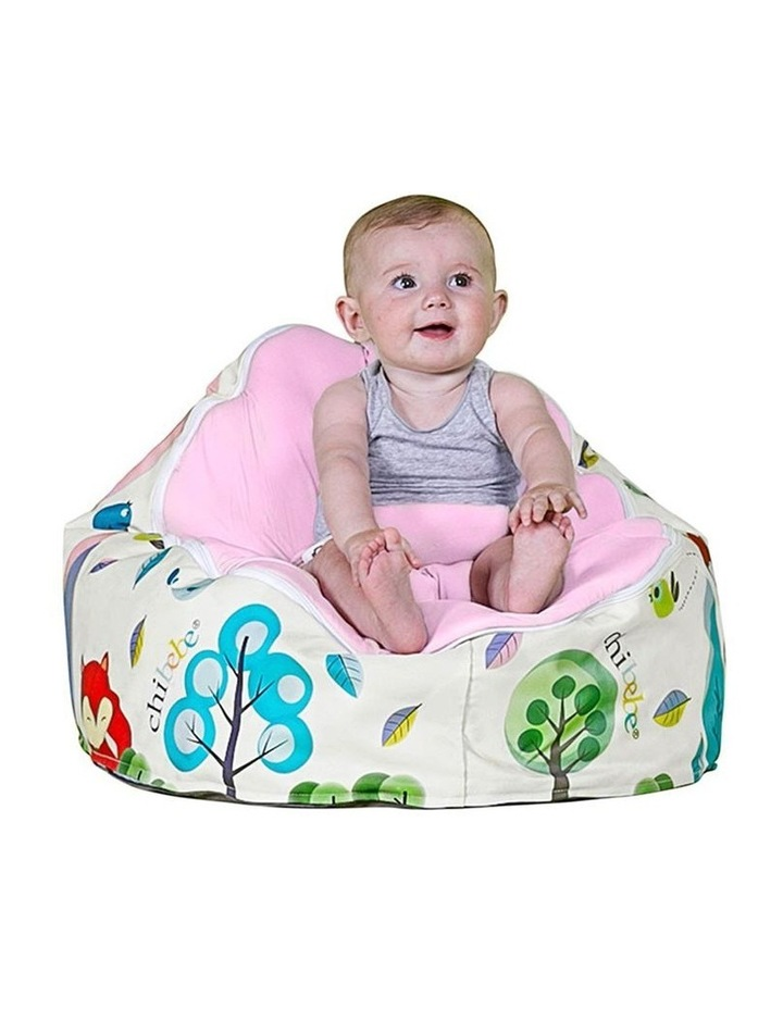 Moxie Foxie Snuggle Pod Baby Bean Bag Pink image 2