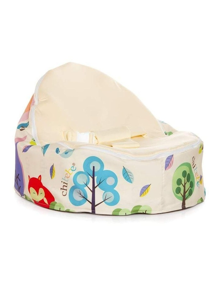 Moxie Foxie Snuggle Pod Baby Bean Bag Pink image 2