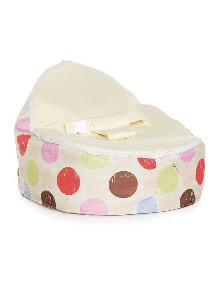 Liberty Snuggle Pod Baby Bean Bag - Cream image 1