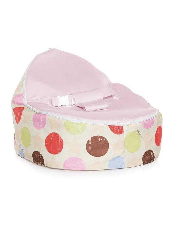 Liberty Snuggle Pod Baby Bean Bag - Pink image 1