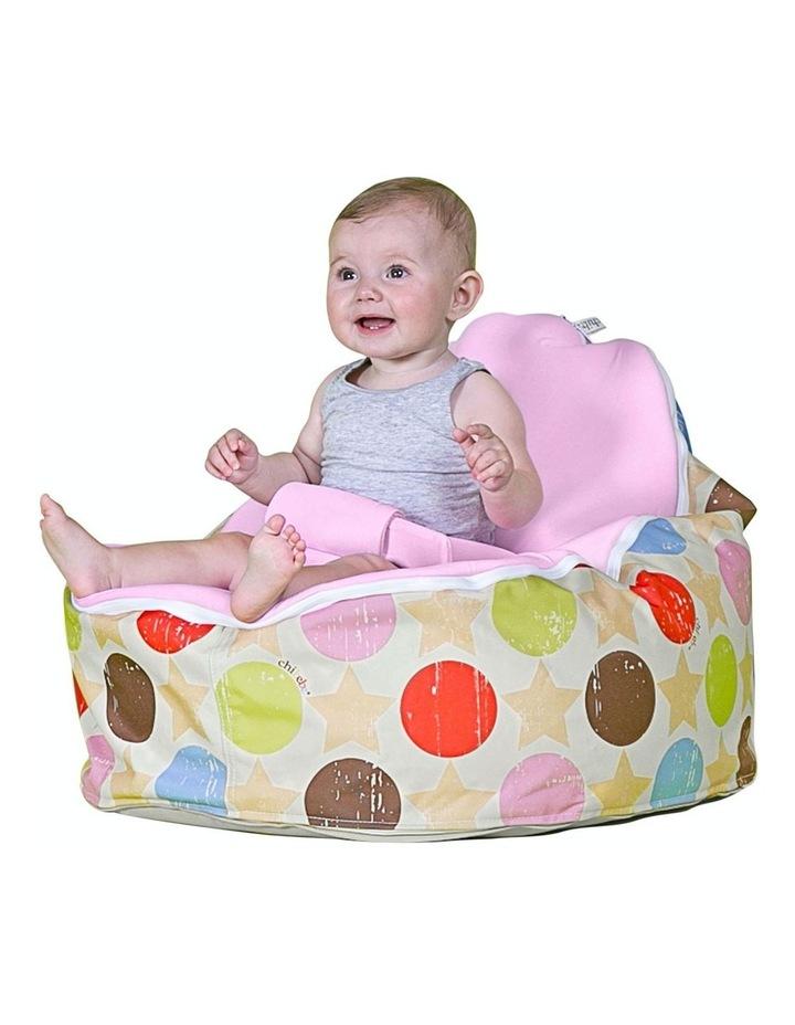 Liberty Snuggle Pod Baby Bean Bag - Pink image 2