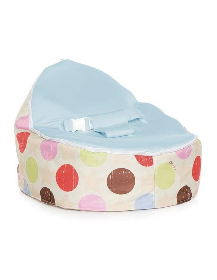 Liberty Snuggle Pod Baby Bean Bag - Blue image 1
