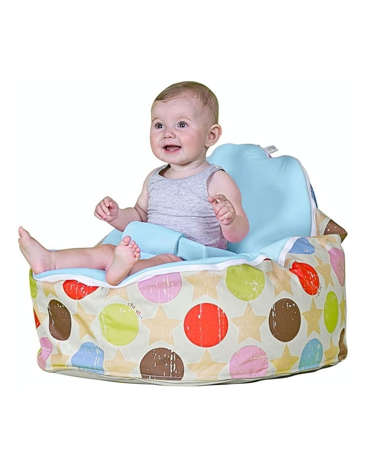 Liberty Snuggle Pod Baby Bean Bag - Blue image 2