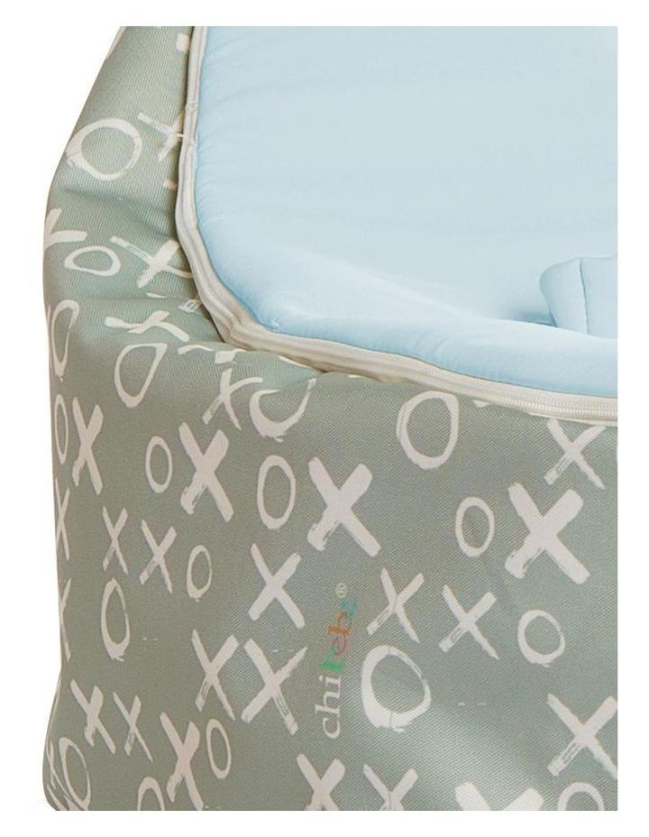Hugs & Kisses Snuggle Pod Baby Bean Bag Blue image 4