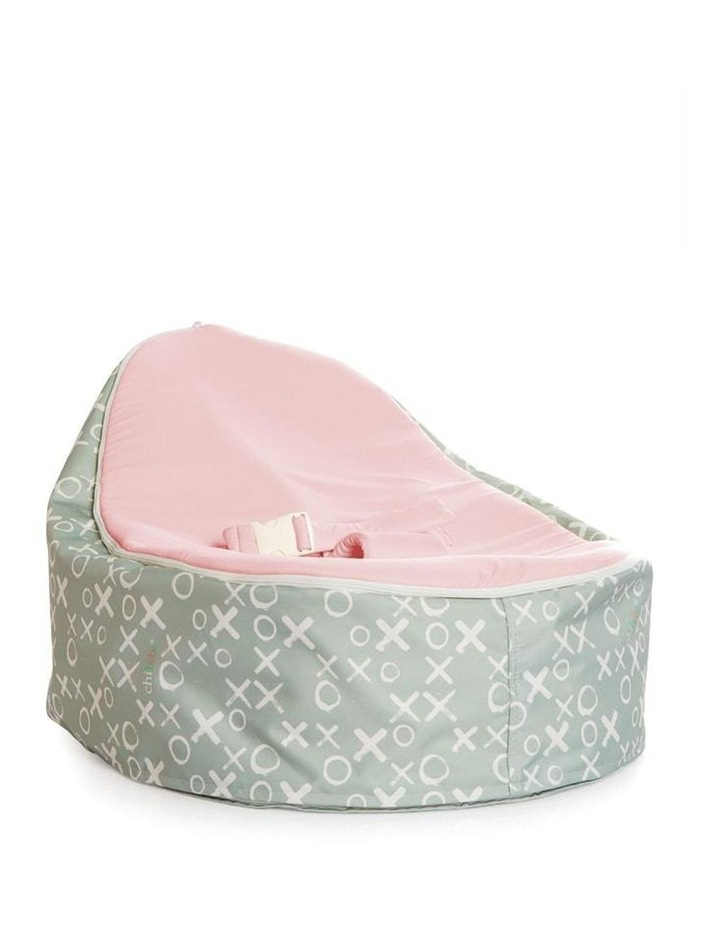 Hugs & Kisses Snuggle Pod Baby Bean Bag Pink image 1