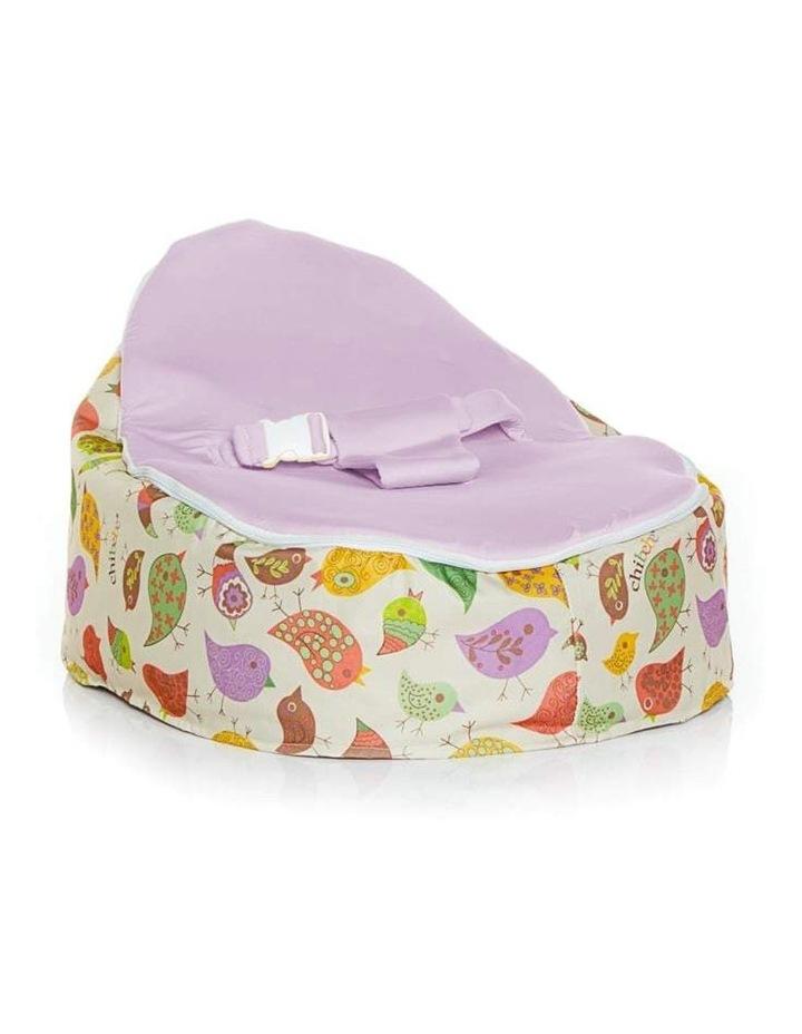 Chirpy Snuggle Pod Baby Bean Bag Grape image 1