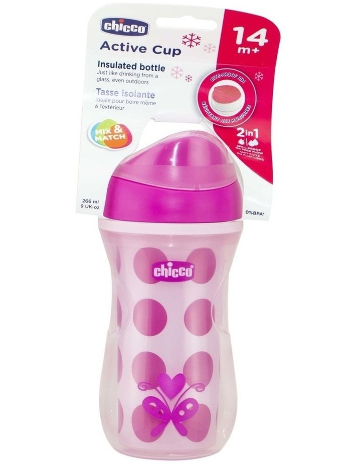 Insulated Cup 14 Months  Girl 1Pk 266Ml image 3