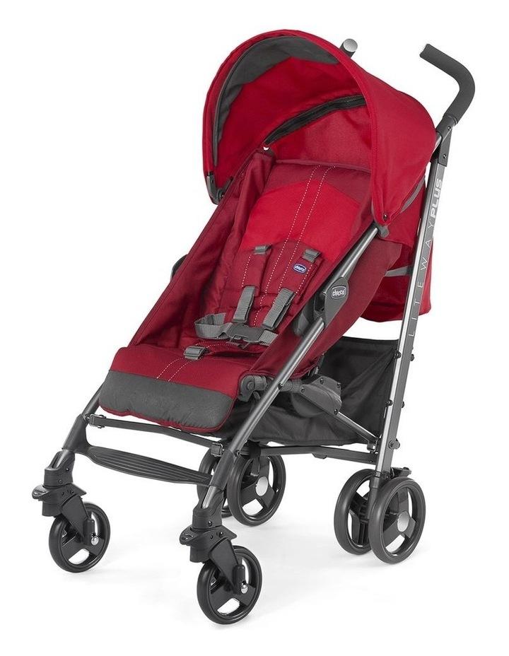 Liteway 2 Stroller- Red image 1