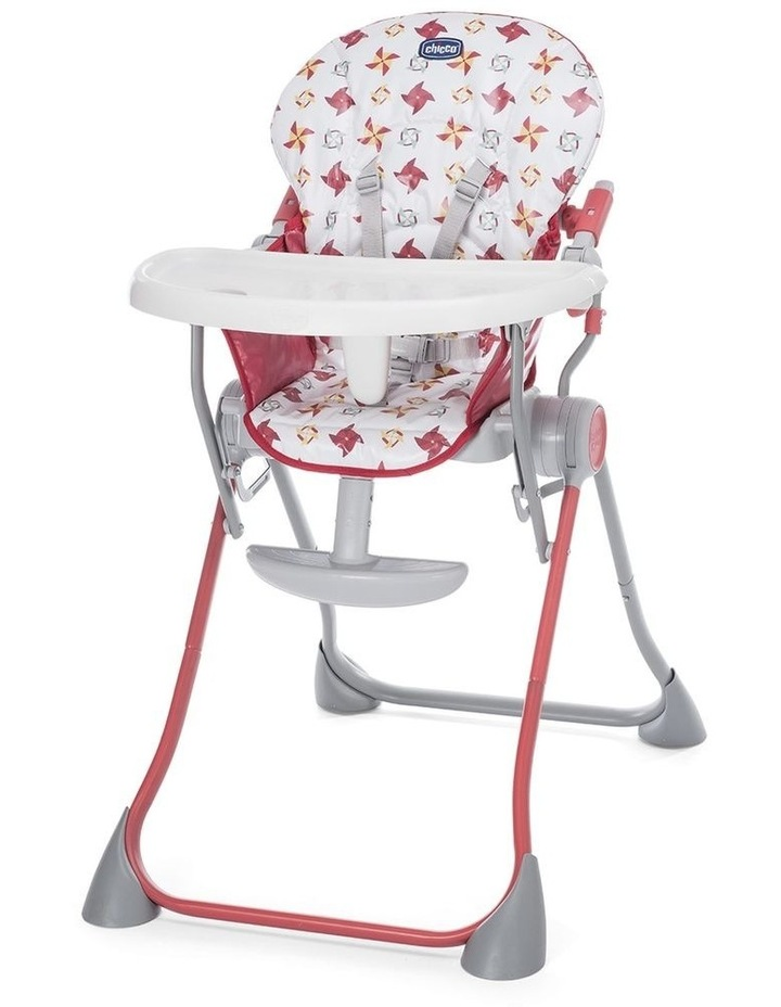 Pocket Meal Highchair Red image 1