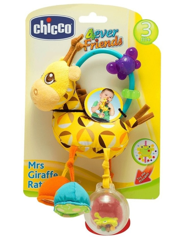 Mrs Giraffe Tactile Rattle image 1