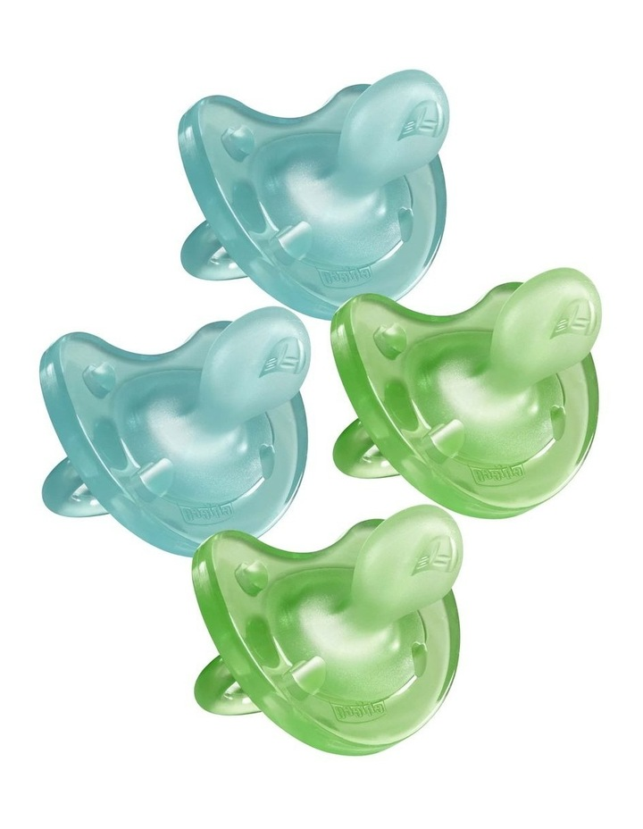 Physio Soft Soother 6-16M 2 X 2Pk Boy image 1