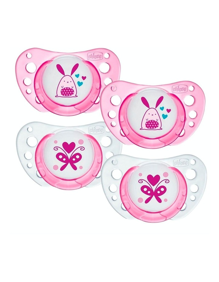 Latex Physio Air Soother 0-6M 2 X 2Pk Girl image 1