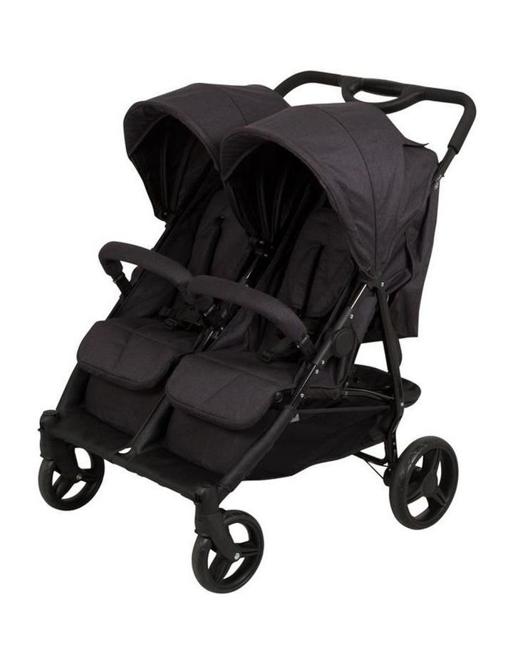 Dupo Twin Stroller - Cinder image 1