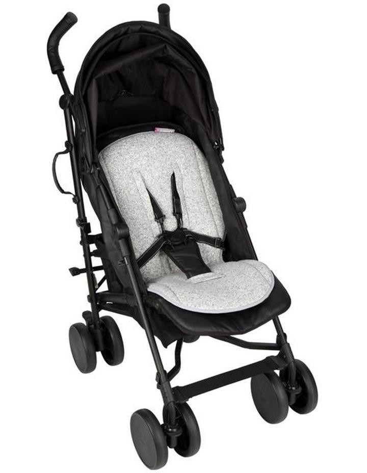 Jersey Stroller Liner - Grey Marl image 2
