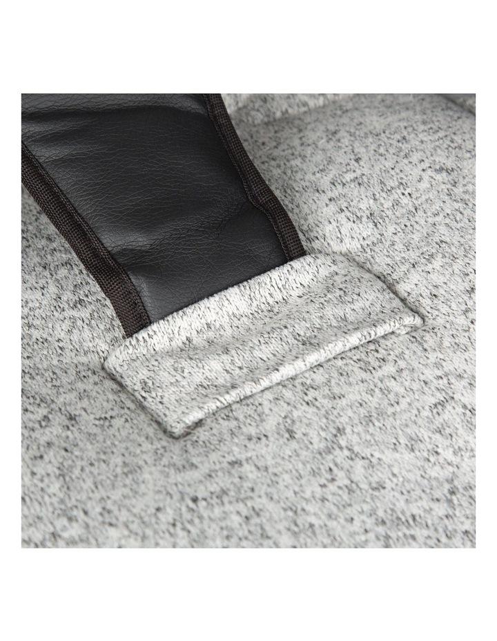 Jersey Stroller Liner - Grey Marl image 3