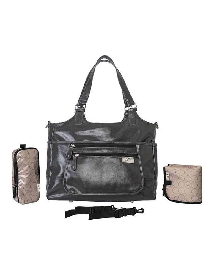 Charlotte Tote Baby Bag in Charcoal image 2
