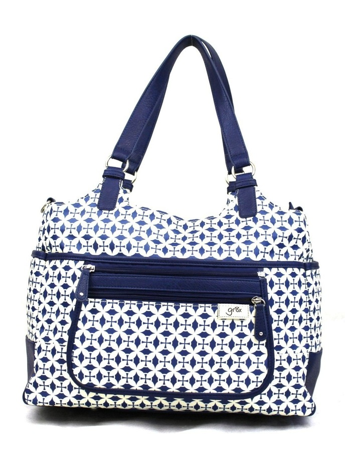 Charlotte Tote Baby Bag Blue image 1