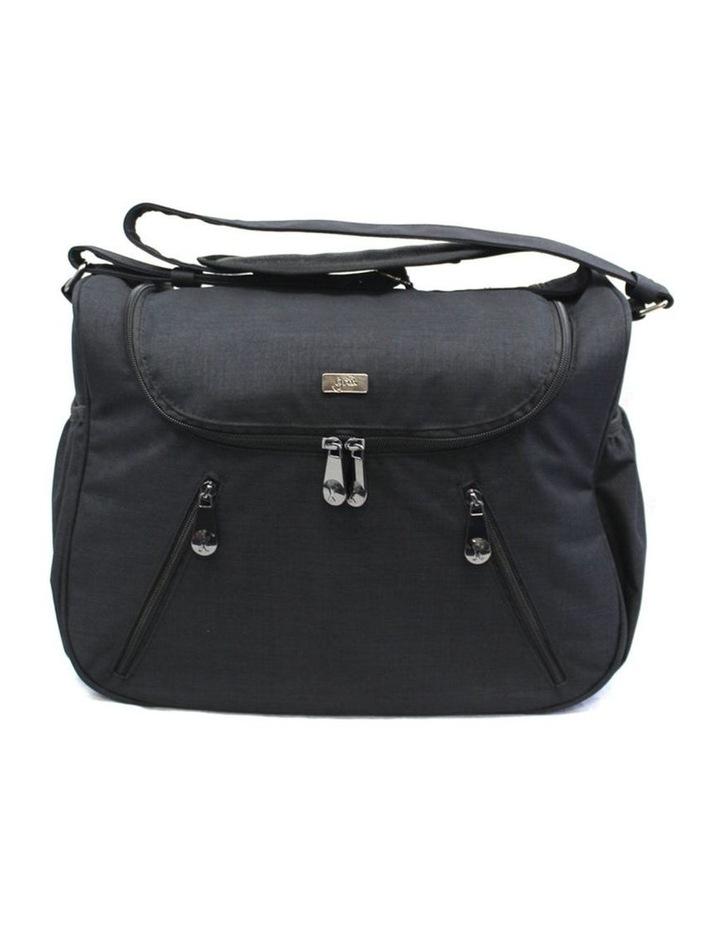 Zoe Snowflake Black Baby Bag image 2