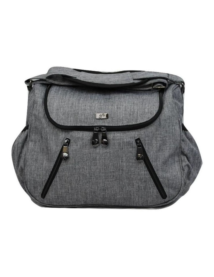 Zoe Snowflake Grey Baby Bag image 2