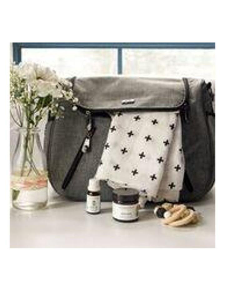 Zoe Snowflake Grey Baby Bag image 3
