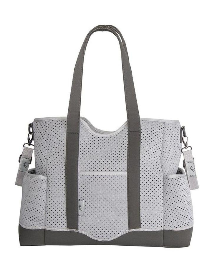 Lulu Neoprene Napy Bag Tote Grey image 1