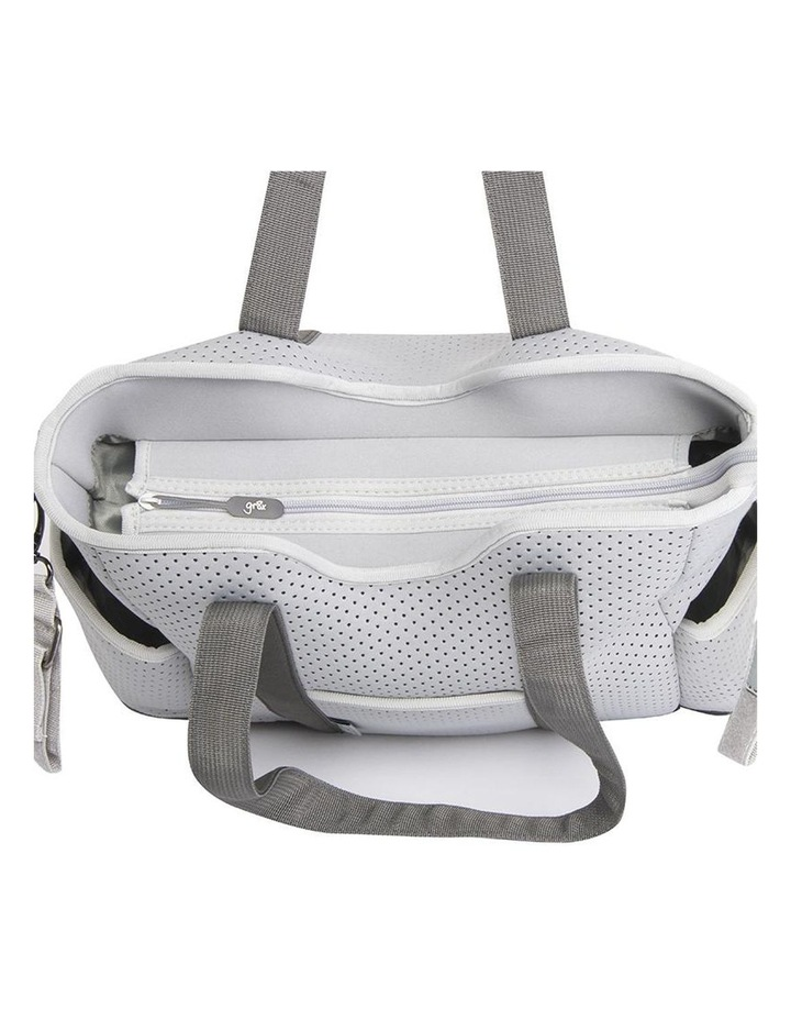Lulu Neoprene Napy Bag Tote Grey image 3
