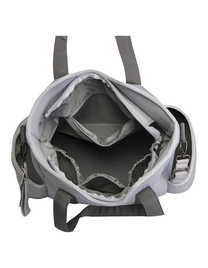 Lulu Neoprene Napy Bag Tote Grey image 4