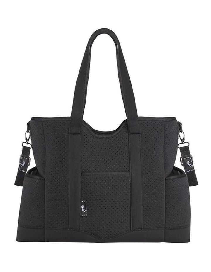 Lulu Neoprene Napy Bag Tote Black image 1