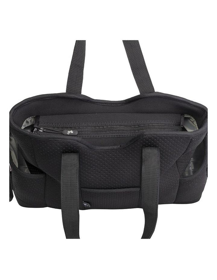 Lulu Neoprene Napy Bag Tote Black image 3