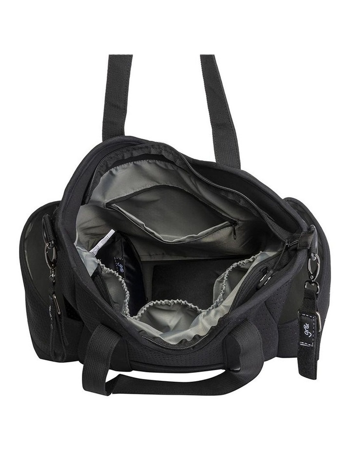 Lulu Neoprene Napy Bag Tote Black image 4