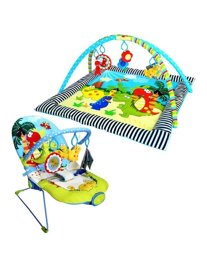 Dinosaur Century Discovery Activity Playgym & Bouncer Package image 1