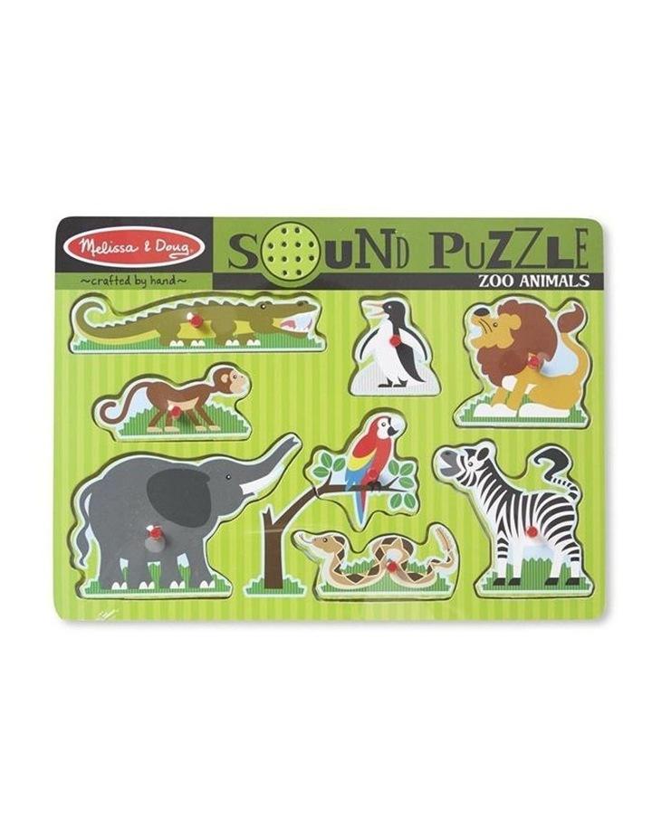 Zoo Animals Sound Puzzle image 1