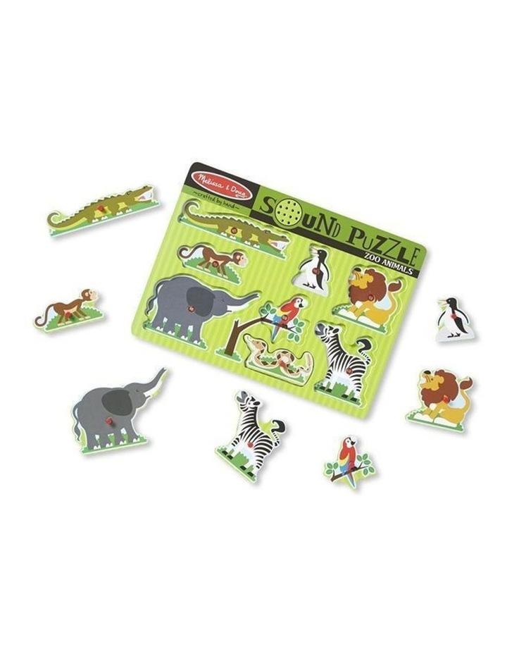 Zoo Animals Sound Puzzle image 2