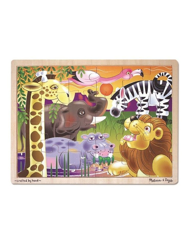 African Plains Jigsaw Puzzle - 24pc image 1